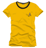Star Trek T-Shirt Uniform yellow