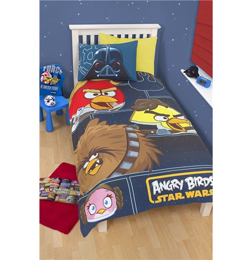 Angry Birds Star Wars Duvet Set, Angry Birds Star Wars Full Size Bedding