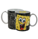 SpongeBob SquarePants Mug Black Bob
