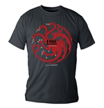Game of Thrones T-Shirt Targaryen Fire And Blood