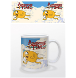 Adventure Time Mug Jake & Finn Flying