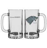 Game of Thrones Beer Glass Stark