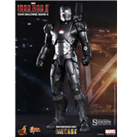 Iron Man 3 MMS Diecast Action Figure 1/6 War Machine Mark II 30 cm