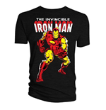 Marvel T-Shirt Iron Man Issue 126 Classic Cover