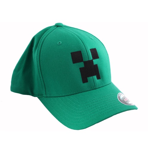 Official Minecraft Baseball Cap Creeper  M  Buy Online on Offer e11b3728ae
