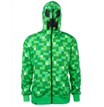Minecraft Hooded Sweater Creeper Premium