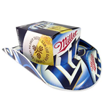 MILLER Lite Box Beer Hats Cowboy Hat