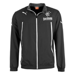 2013-14 Rangers Puma Woven Jacket (Black) - Kids