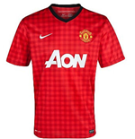 2012-13 Manchester United Home Football Shirt (Kids)