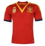2013-14 Spain Adidas Home Football Shirt (Kids)