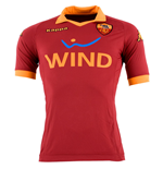 2012-13 Roma Home Kappa Football Shirt