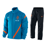 2012-13 Holland Nike Woven Tracksuit (Blue) - Kids