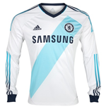 2012-13 Chelsea Adidas Long Sleeve Away Shirt