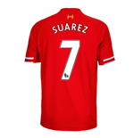 2013-14 Liverpool Home Shirt (Suarez 7) - Kids