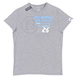 2012-13 Napoli Macron Essential T-Shirt (Grey)