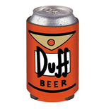 Simpsons Duff Beer Can Cooler Koozie